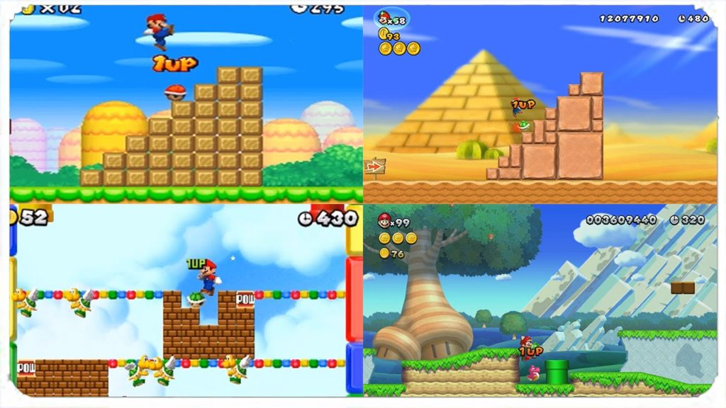New Super Mario games