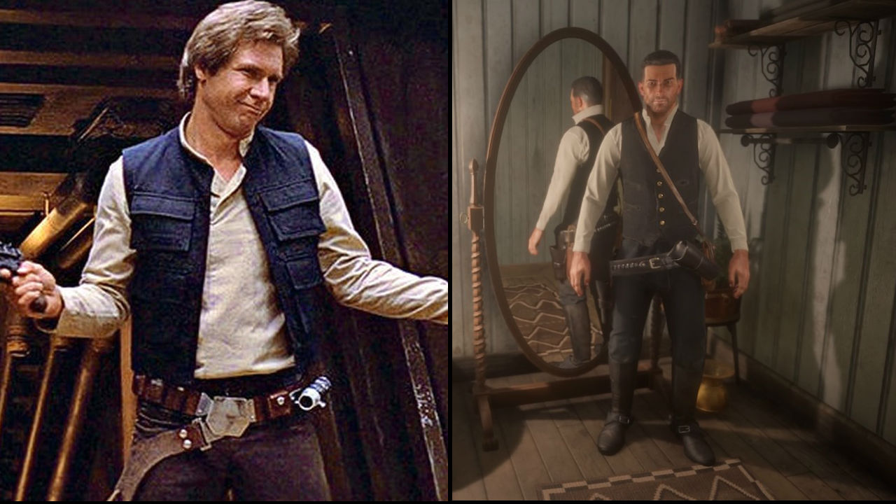 5bad50c9a2 RDR 2: How to make Han Solo and other movie inspired outfits
