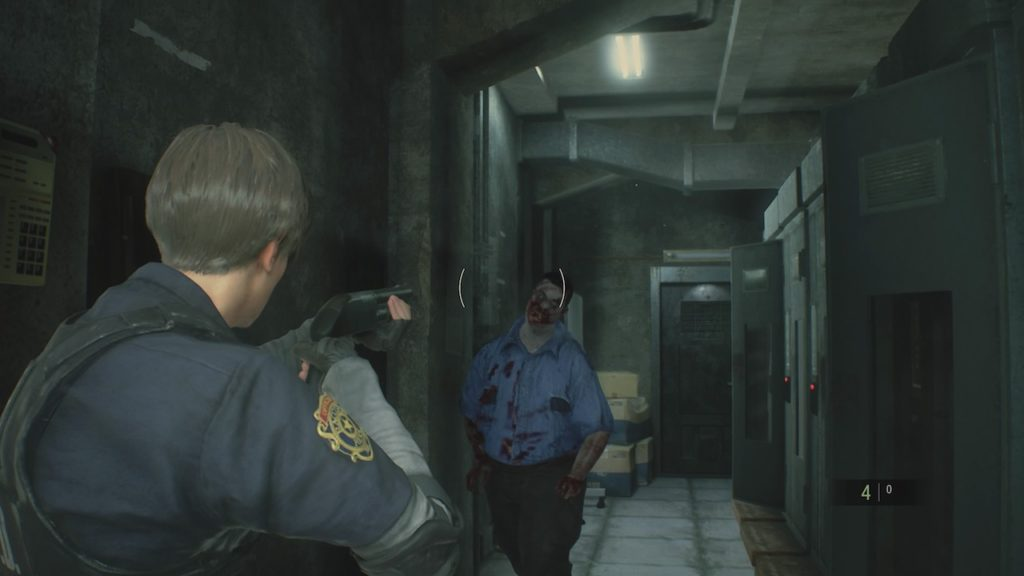 resident evil 2 shotgun