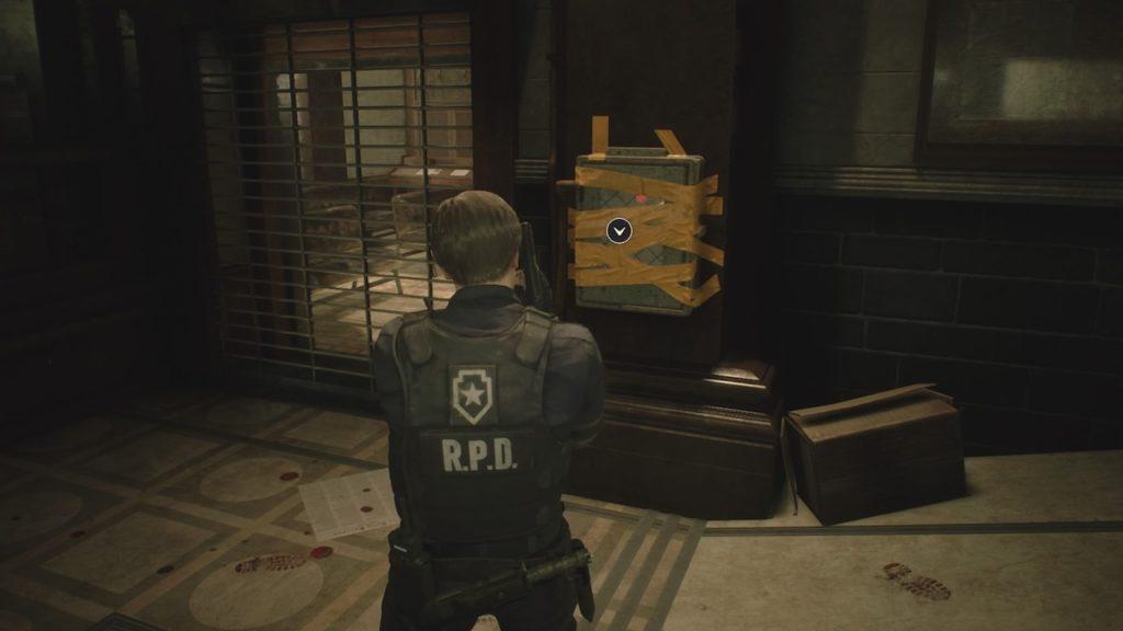resident evil 2 tape box