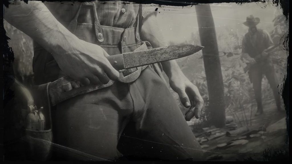 rdr2 throwing knife