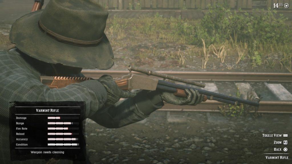 red dead 2 varmint rifle