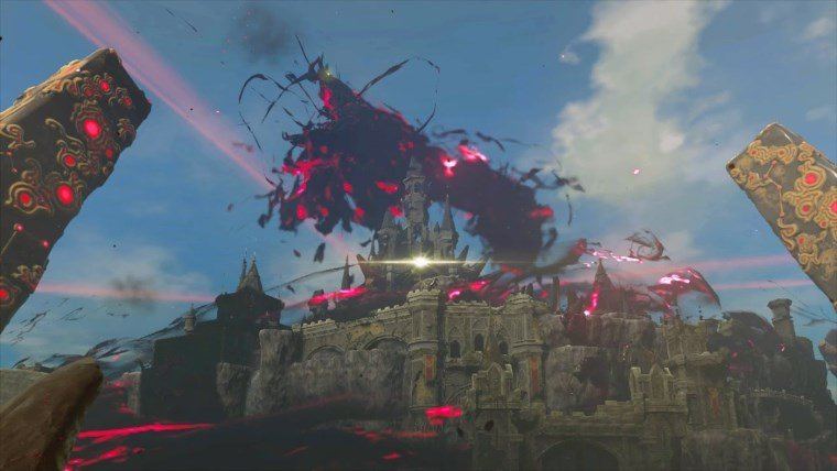 In Breath of the Wild, you can head off to fight the final boss Ganon right away. You'll get your ass kicked, but the point is you can try.