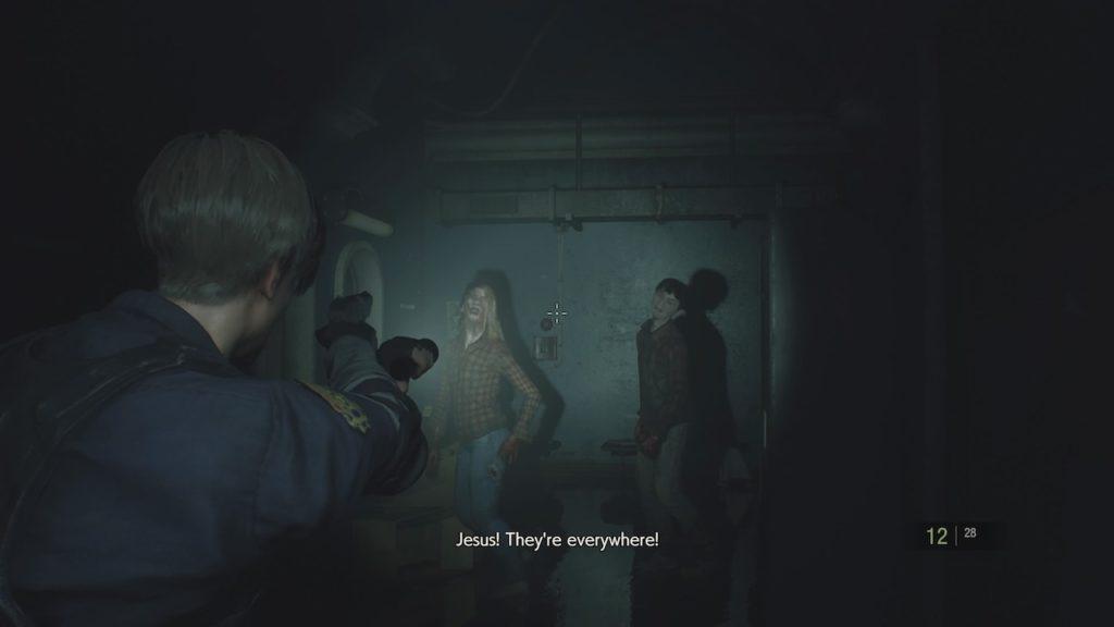 resident evil 2 zombie hordes