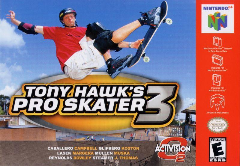 tony hawk pro skater 3 soundtrack