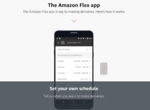 Amazon flex delivery app
