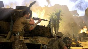 Aim down the scope of Sniper Elite 3