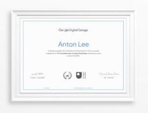 Digital Garage online certification