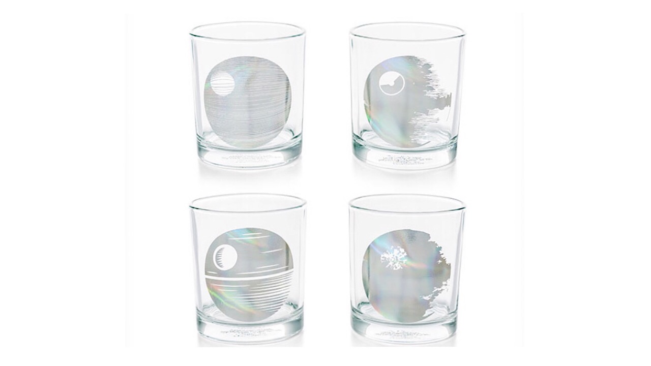 Star Wars drink glasses