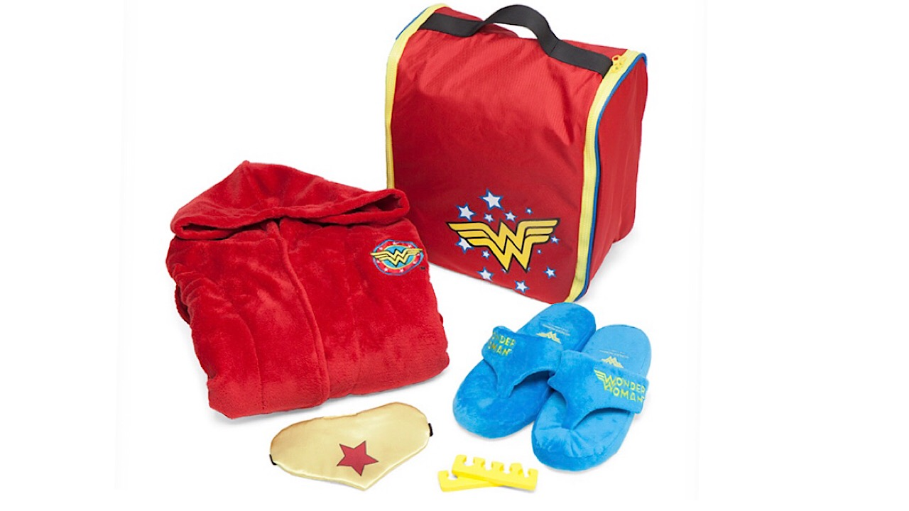 Wonder Woman spa set