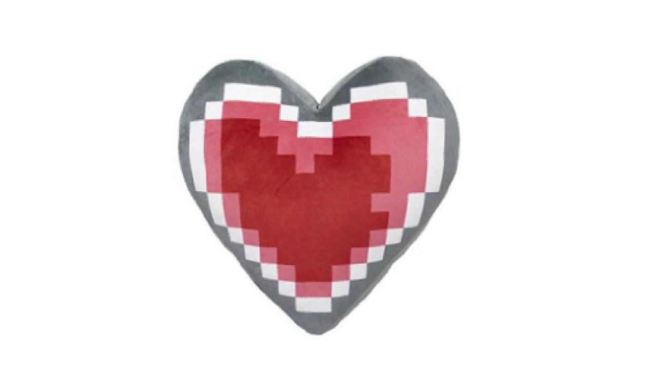 Heart Container pillow