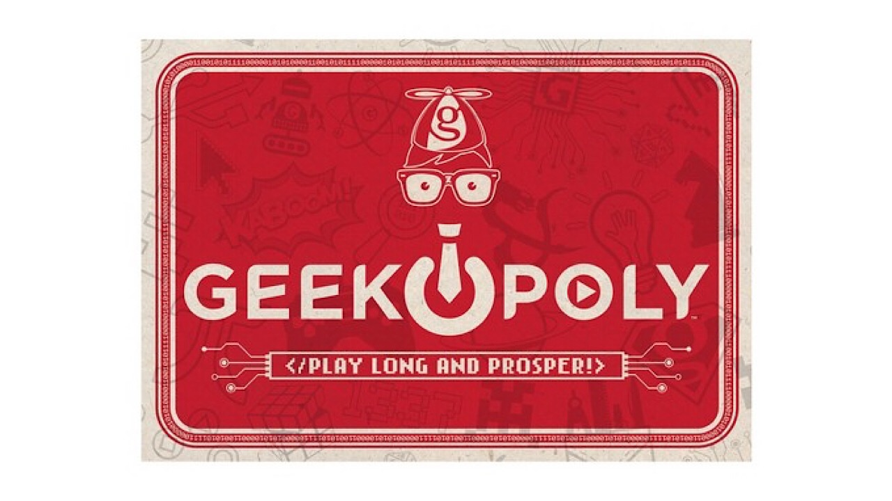 Geek-opoly game