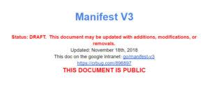 Google ad blocker information