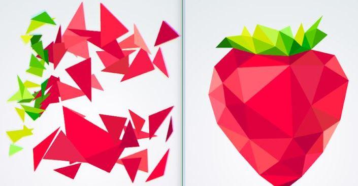 Polysphere strawberry puzzle
