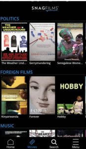 snag films free documentaries