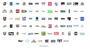 Channels YouTube TV