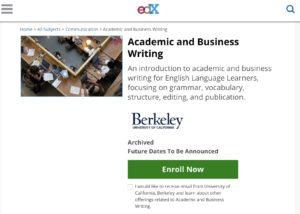 UC Berkeley Business Writing free