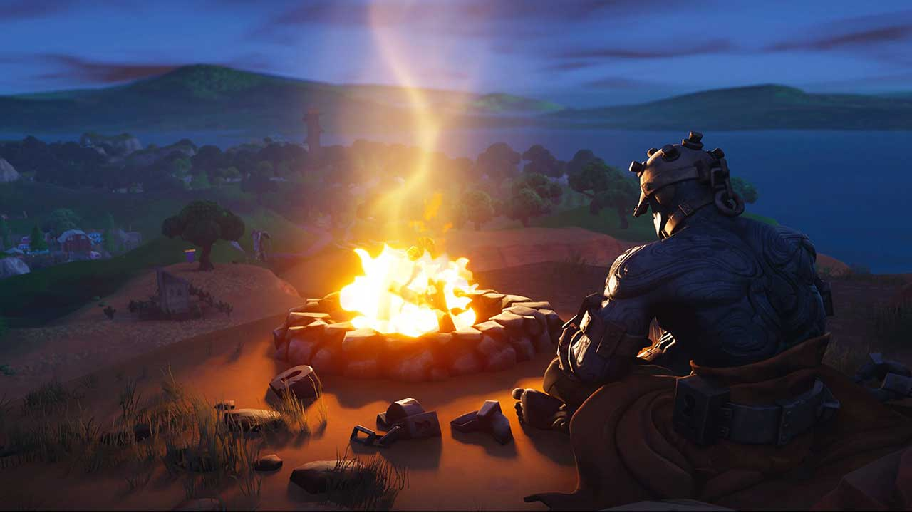 fortnite prisoner skin campfire loading screen season 8