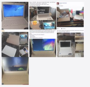 laptops for ad laundering