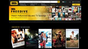 Watch free streaming movies and TV shows with IMDB Freedive