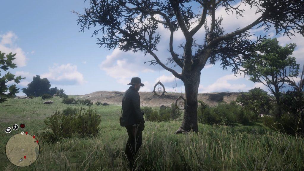 red dead redemption 2 dreamcatcher location guide