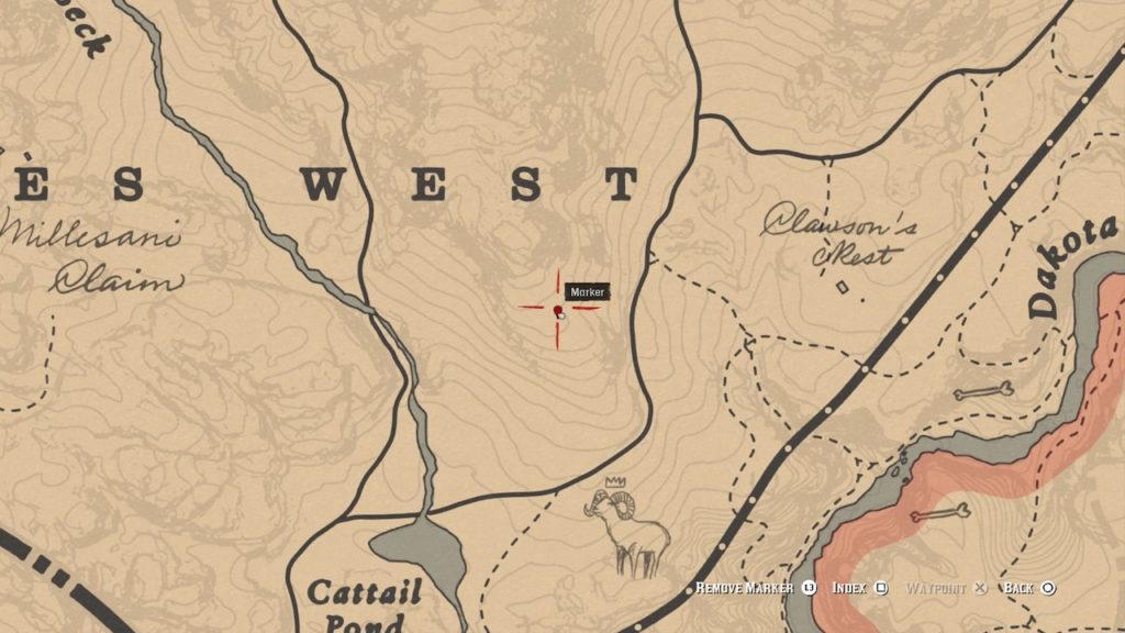 red dead redemption 2 dreamcatcher location guide