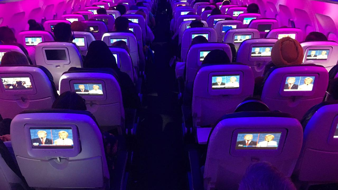 In-flight displays could be watching you