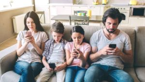 No, your kid's phone isn't wrecking your family time