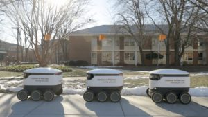 How food delivery robots encourage college students to eat better