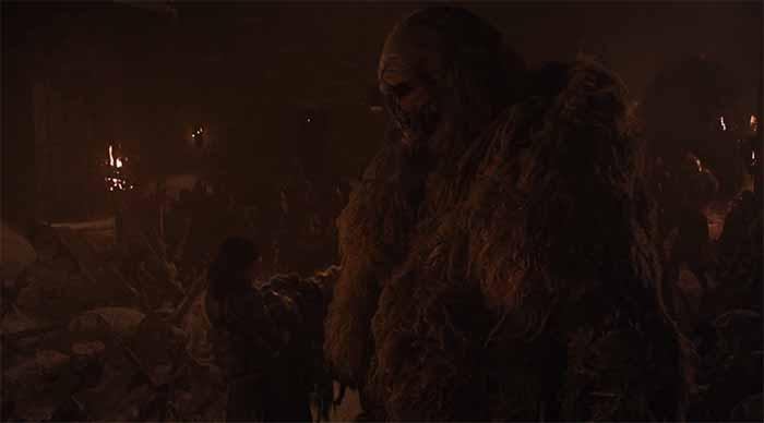 Lyanna Mormont faces the end