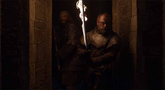 Beric and the Hound