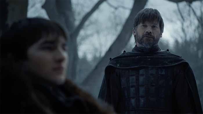 Jaime Lannister and Bran Stark
