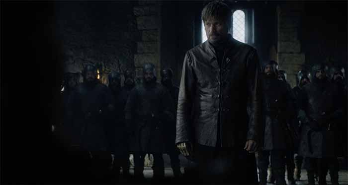 Jaime Lannister in Winterfell