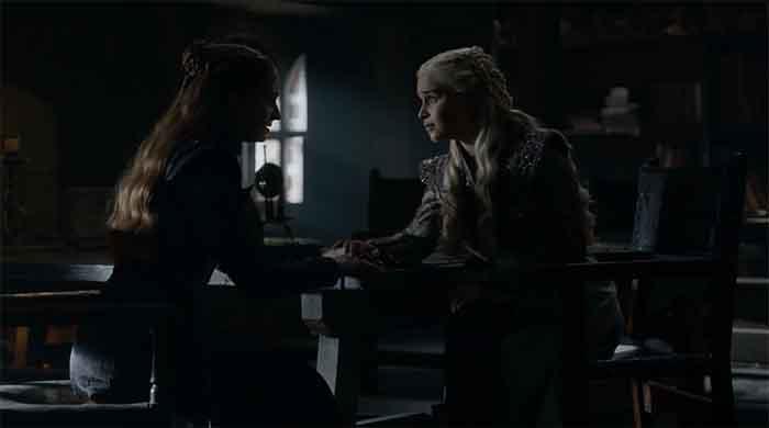 Sansa and Daenerys