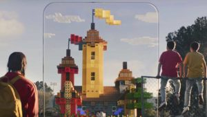 Minecraft Earth brings the game to AR