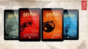 New Harry Potter stories coming next month