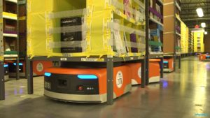 Amazon reveals job-replacing robots