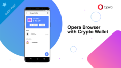How to store and use cryptocurrency with Opera's web browser wallet