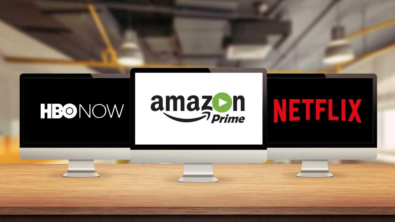 Netflix vs HBO NOW vs Amazon Prime Video