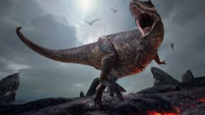Jurassic World: Alive lets you feed the dinosaurs