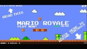 Mario Royale: Can you defeat 99 other Marios?