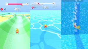 Aquapark.io is the perfect mindless summer game