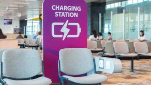 Airport charging stations could give your phone malware