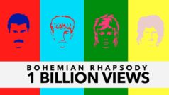 Queen's 'Bohemian Rhapsody' breaks 1 billion views on YouTube