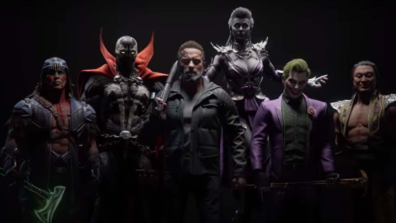 Spawn, Joker, and the Terminator coming to Mortal Kombat 11