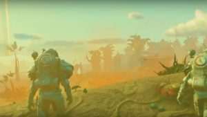 No Man's Sky Beyond trailer showcases a VR universe