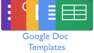 Over 60 Google Docs templates
