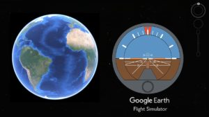 How to control Google Earth Flight Simulator