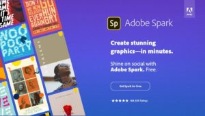 Adobe Spark: Finally! An easy-to-use powerful graphics program