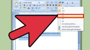 How to Double Space In Microsoft Word In 2 Steps